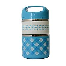 2 Layer Premium Lunch Box -  1.5L - Blue