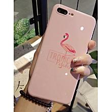 iPhone 8/8 Plus/7/7 Plus/6/6S/6 Plus/6S Plus Phone Case Flamingo Pattern Letter Pink Cover____IPHONE 6PLUS/6S PLUS____pink