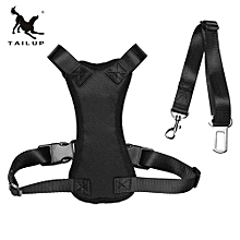 TAILUP Stylish Pet Car Safety Chest Car Seat Belt Dogs Harness Chest Straps