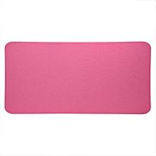 68x33cm Felts Table Mouse Pad Office Desk Laptop Mat Anti-static Computer PC Pads (Pink)