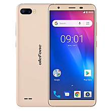 Ulefone S1, 1GB+8GB, Dual Back Cameras, Face Identification, 5.5 inch Android GO 8.1 MTK6580 Quad-core 64-bit up to 1.3GHz, Network: 3G, Dual SIM(Gold)