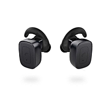 Wireless Earbuds, Bluetooth Mini Wireless Headphones Stereo In-ear Earpieces Hands-free Headset with Mic Siri - Black