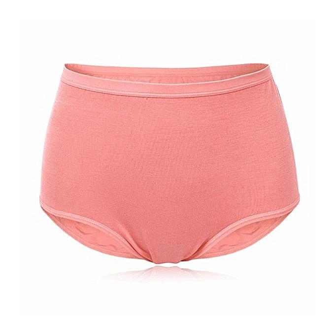 Fashion M-2XL Women High Waist Panties Bamboo Fiber Breathable ... 8c47c196b2