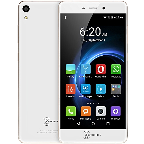 R6 5.2 inch Android 5.1 4G Smartphone MTK6753 Octa Core 1.3GHz 2GB RAM 16GB ROM Corning Gorilla Glass 3 Screen GPS WiFi Dual Cameras ( EU Plug )