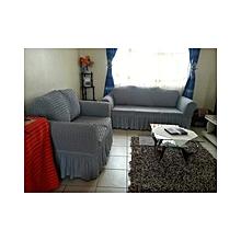 Sofa Seat Covers –3+2+1+1   – Grey