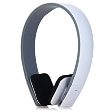 Fashion BQ - 618 Smart Wireless Bluetooth  Stereo Headphones With MIC Support 3.5mm Stereo Audio Input(WHITE)