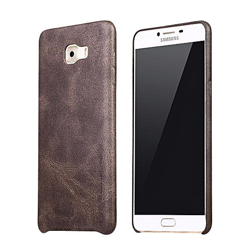 huge selection of e3235 d3c54 Executive Leather Back Cover For Galaxy A5 (2016) A510 5.2