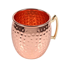 550ML Hammered Copper Brass Mug Cup Drinking For Vodka Tequila Whiskey #1