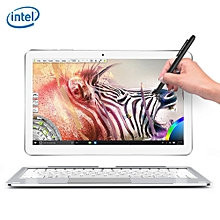 ALLDOCUBE Mix Plus 2 in 1 Tablet PC 10.6 inch Windows 10 IPS Capacitive Screen Intel Kaby Lake Core M3-7Y30 Dual Core 1.61GHz 4GB RAM 128GB SSD 2.0MP + 5.0MP Cameras Bluetooth 4.0 OTA OTG-SILVER