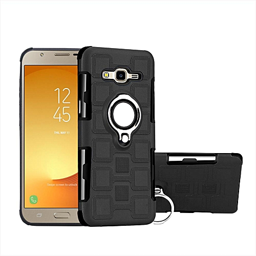 more photos 471f0 362e4 Armor phone Case cover with Kickstand For Samsung Galaxy J7 Neo / J7 Nxt  -Black