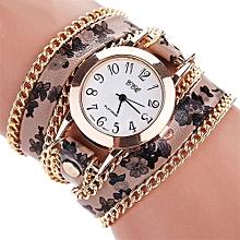 CCQ Women Fashion Casual Analog Quartz Women  Watch Bracelet Watch