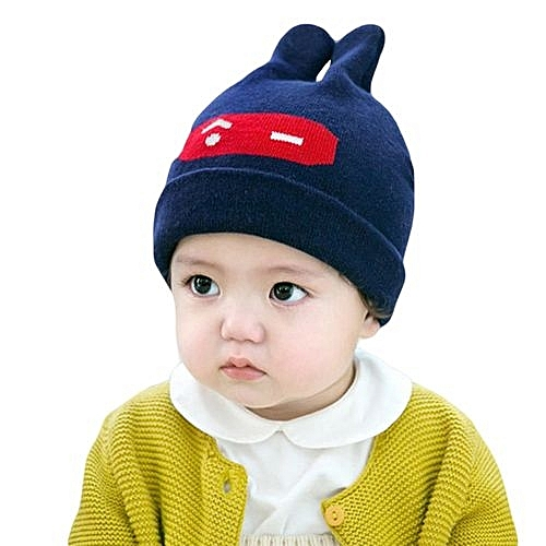 Eissely Trendy Winter Baby Beanie Hat Cap Warm Cute Kids Boys Girls Toddler  Knitted 79edc5a1ab8