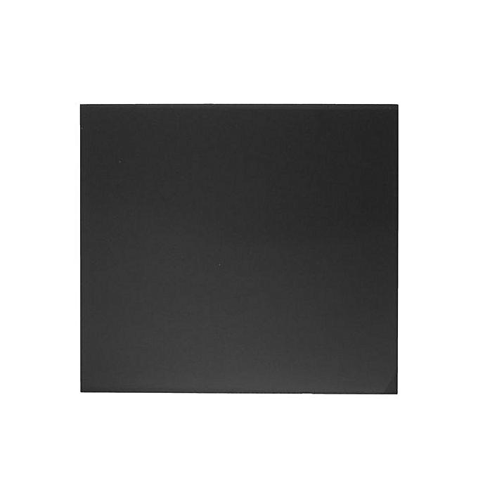 1Pcs Black Opaque Cast Acrylic Plexiglass Plastic Sheet 1/8