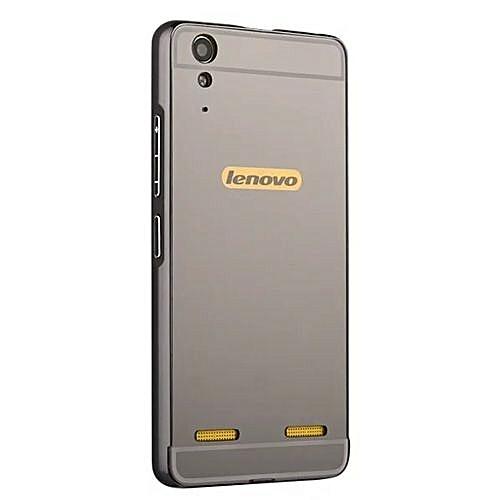 buy online 7e220 f11d8 Moonmini Hard PC Mirror Metal Frame Bumper Case For Lenovo K3 A6000  (Color:c1)