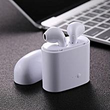 i7S TWS Ture Wireless Stereo Double Earphones Bluetooth V4.2 + EDR Earphone for Samsung
