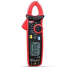 UT210D Clamp Shape LCD Digital Multimeter Handhold Test Device - Gray + Red