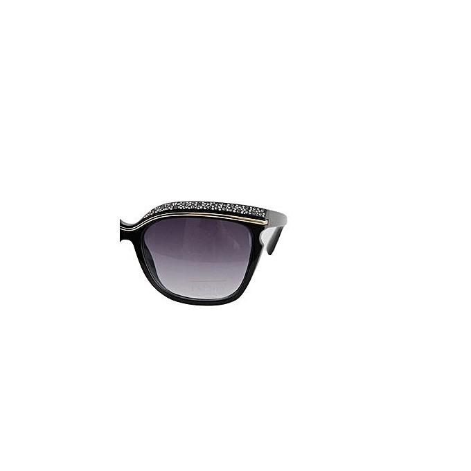 77dd34c9c2 ... EOZY FASHION Women Oversized Sunglasses Ladies Eyeglasses Outdoor Beach  UV Protection Sun Glasses Eyewear (Black