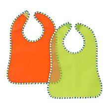 KLADD RANDIG Bib - Assorted Set of Orange and Green