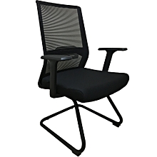 New Arrival ! Ergonomic Office Visitor Chair with Mesh Back and Fabric Seat