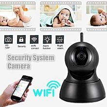 US Mini Wireless 720P Security Network CCTV IP Camera Night Vision WIFI Webcam Home Black