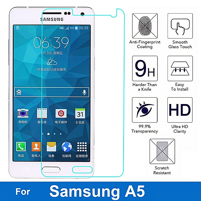 Nicotd Tempered Glass For Samsung Galaxy A3 A5 A7 2017 2016 2015 Screen  Protector Protective Film for samsung A8 2018 A8plus