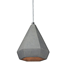Concrete Ceiling Lamp - Light Grey