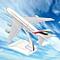 16CM Metal Plane Model Aircraft A380 EMIRATES Aeroplane Scale Desk Toy DHL