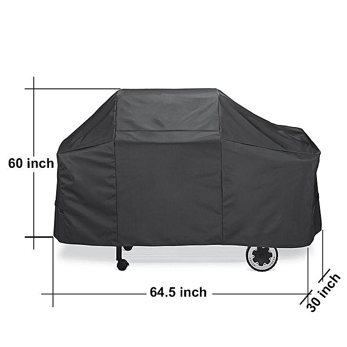 Generic New 7552 Premium Black Grill Cover Protector Fits For Weber