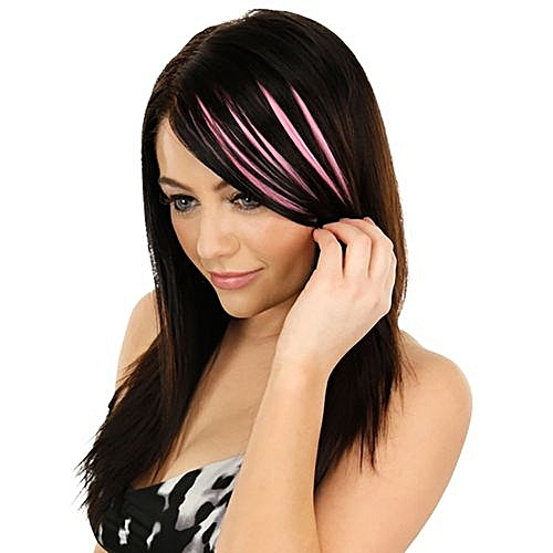 Fashion Lady Fashion Women Hair Wig Pretty Girls Clip On Clip In Front Hair  Bang Fringe Hair Extension Piece Thin f2f388f8b1