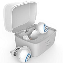 Earphone for Sport, D900S Sports Wireless Bluetooth 4.0 Headphone Apt-x IPX4 Waterproof Earbud(White)