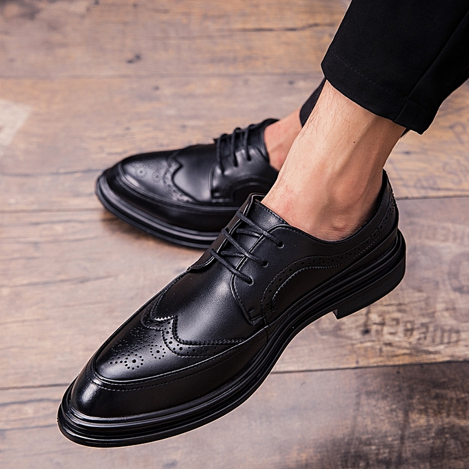 47de4450eed0 EUR Size 38-44 New Arrival Men Shoes Retro Brogue Office Shoes Men Oxfords  Shoes