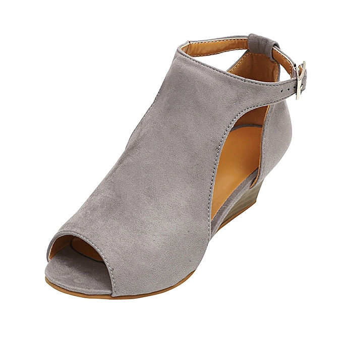d1d34a3a27 ALEX most popular best rating lowest price Women's Shoes Platform Wedge  Sandals Ankle Strap Peep Toe