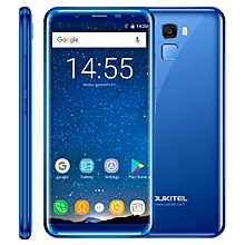 K5000, 4GB+64GB, 5.7 inch Android 7.0, 21.0MP Front Camera, 5000mAh Battery - Blue