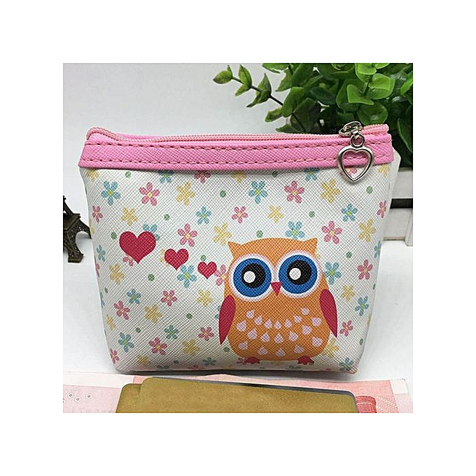 90ed2ecd04 Generic Womens Owl Wallet Card Holder Coin Purse Clutch Handbag F   Best  Price