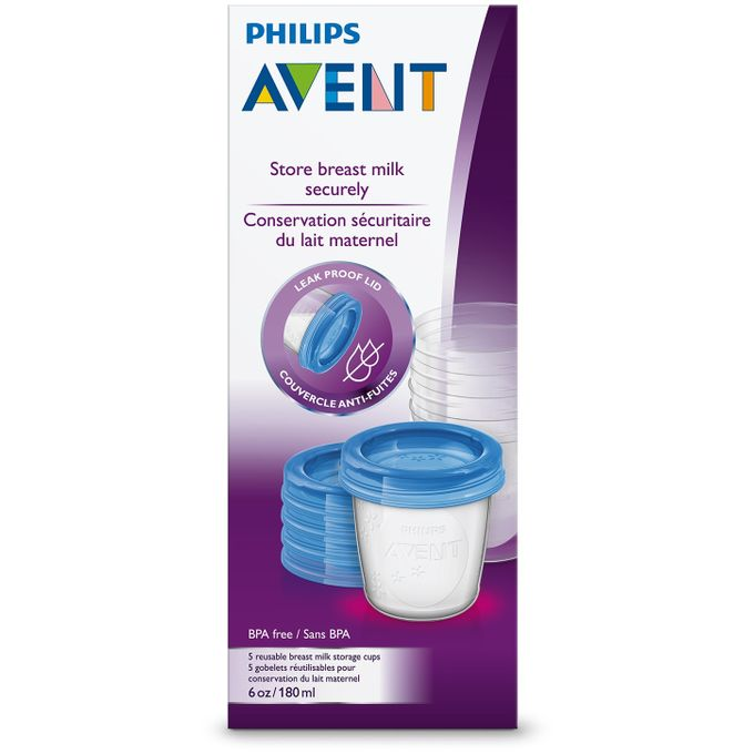 Avent Baby Food Storage Cups