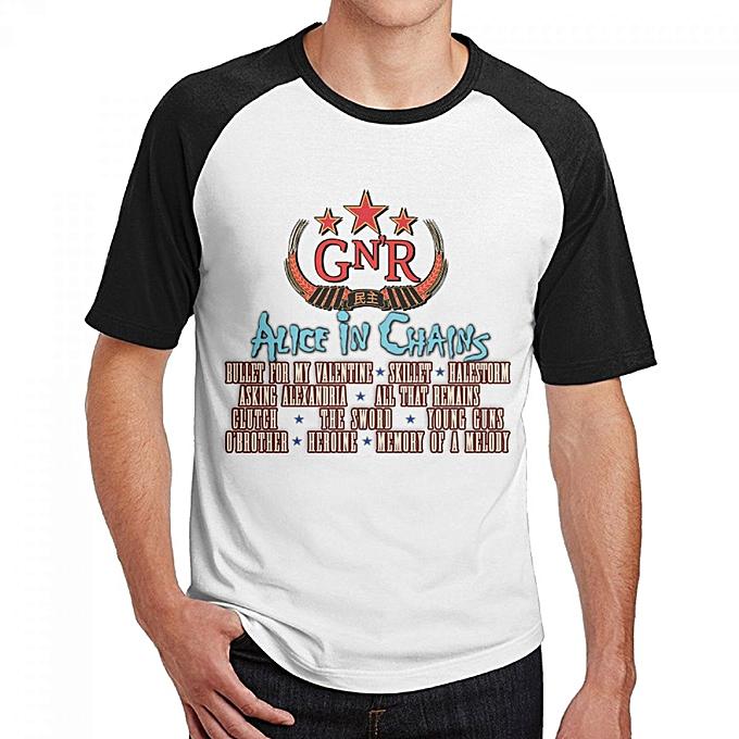 ae4480af77 Generic Lineup Full Men's Cotton Short Baseball Raglan Sleeves T-Shirt Black