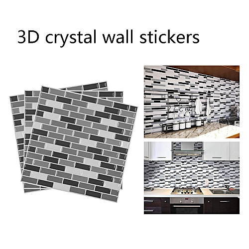 generic 3d mosaic wall sticker self-adhesive wallpaper for kitchen