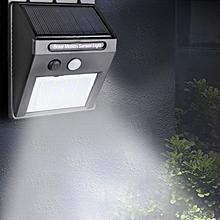 20 LED Motion Sensor Waterproof Solar Light - Black