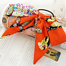 Fashion Butterfly Hair Belt Butterfly Knot Hair Circle Headdress