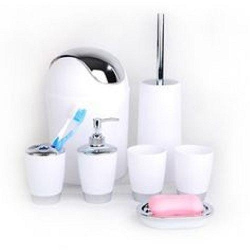 6pcs bathroom accessories - Bathroom Accessories Kenya