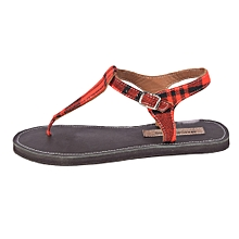 Ladies Watamu Sandals with Shuka Strap-Multicolor