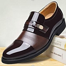 Men Official Oxford Fashion PU Leather Soft Rubber Sole Shoes.