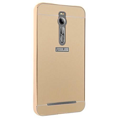 sale retailer 5f372 614b8 Moonmini Hard PC Cover Mirror Metal Frame Bumper Case For ASUS ZenFone 2  ZE550ML / ZE551ML 5.5 Inch (Color:c3)