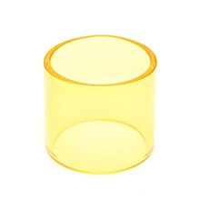6 Color Replacement Transparent Pyrex Glass Tube Tank Sleeve For TFV8 Baby Beast Yellow