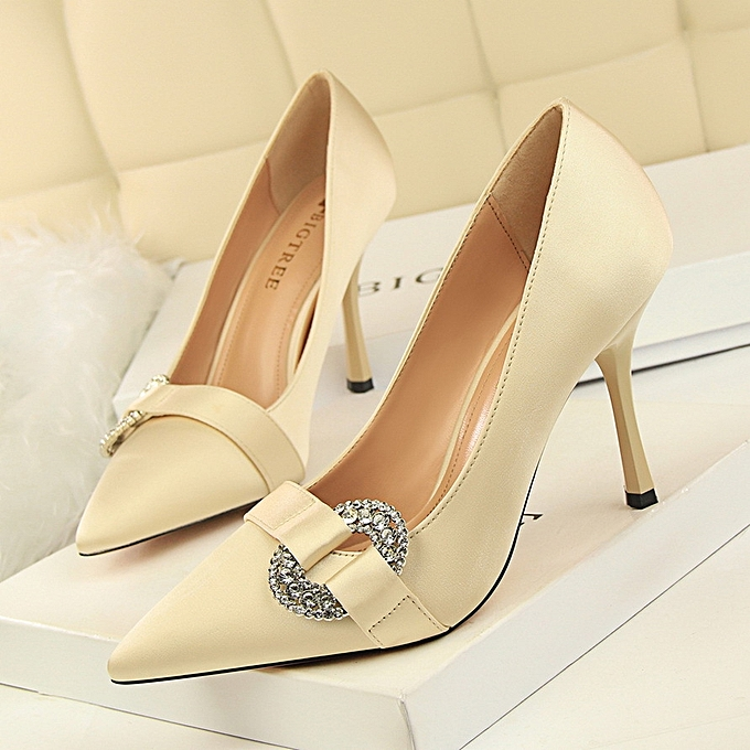 ae200562c6c83 Women's Shoes 2018 High Heeled Crystle Shoes With Elegant Modern Design  High Quality Beautiful, Stylish and Attractive