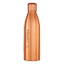 Seamless Copper Water Bottle 500 ml - Great Health Benefits & Leak Proof.