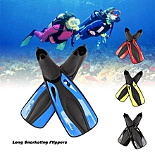 Adult Flexible Comfort Swimming Fins Submersible Long Swimming Snorkeling Foot Profession Diving Fins Flippers Water Sports