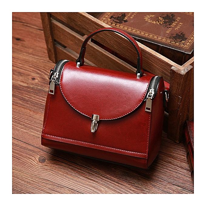 Fashion Women Genuine Leather Designer Handbag Shoulder Bag Lady ... a46c55907ad0f