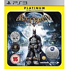 PS3 Game Batman Arkham Asylum Platinum