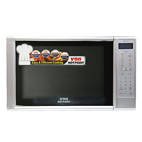 HMS-210DS/VAMS-20DGS Microwave Oven Solo. 20L, Mirror, Digital - Silver